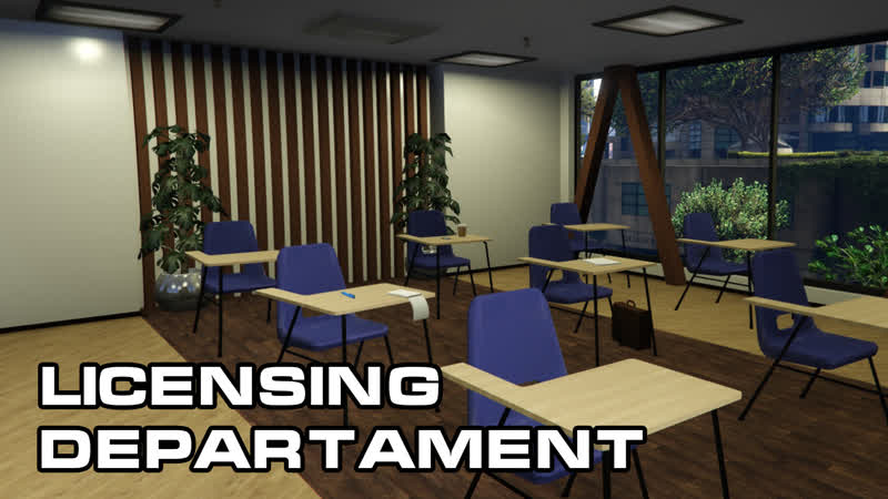 Департамент лицензирования на Fiver Roleplay GTA V RP Departament of Licensing
