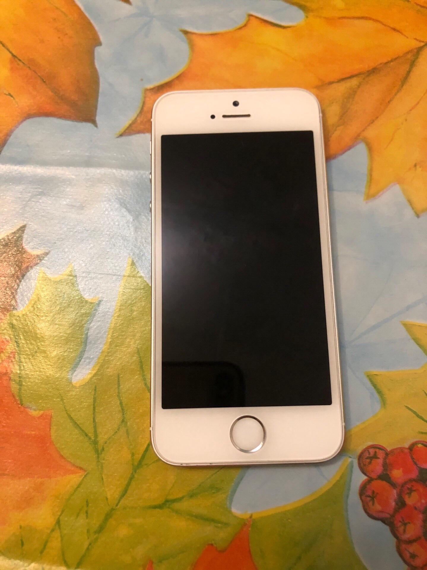 Купить IPhone 5s 16гб  Отпечаток работает    Объявления Орска и Новотроицка №1169