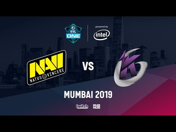 Na`Vi vs Keen Gaming ESL One Mumbai 2019 bo3 game 1 Godhunt Lost