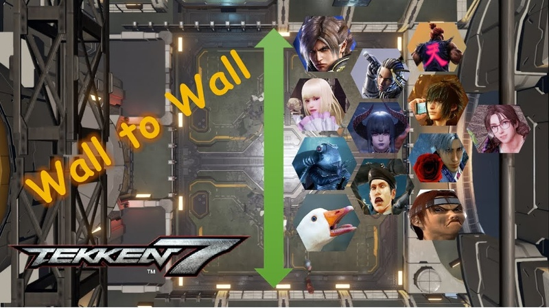 T7 Wall to Wall Voilet Systems Stage with Various Characters