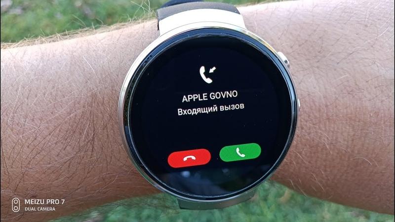 LEMFO LEM7 4G Лучшие смарт часы из Китая Обзор и тест