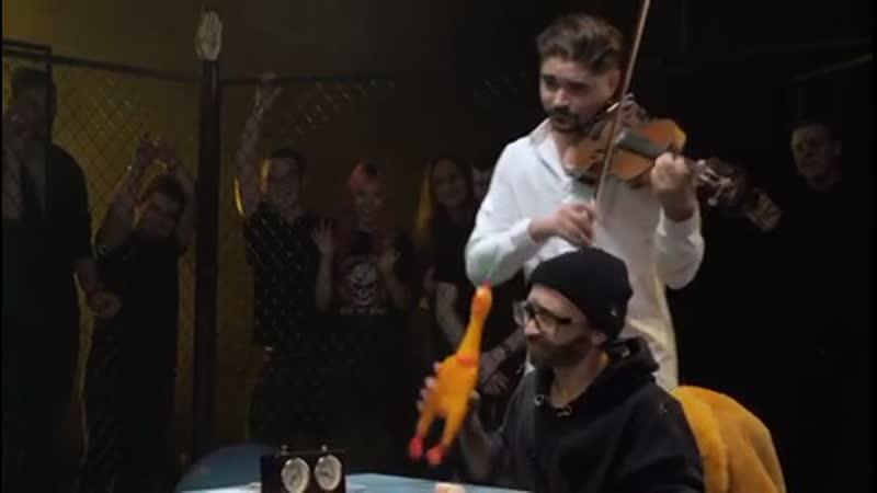 Музыченко помогает Джарахову на Дай Леща. Игорь Корнелюк- Город, которого нет