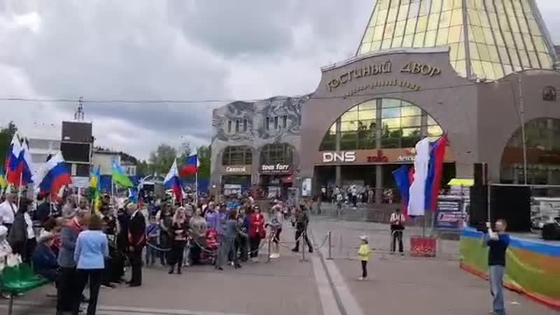 День России и День города в Ханты-Мансийске