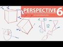 PERSPECTIVE 6 TILTING FORMS TWISTING PLANES ORGANICS