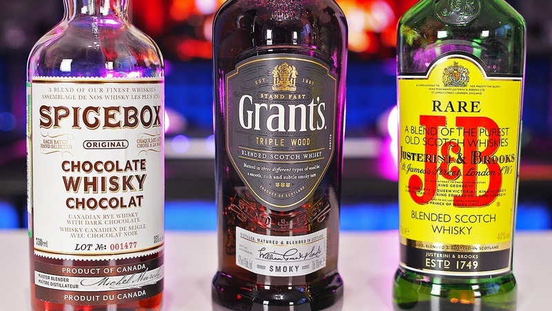 ЧТО ОБЩЕГО У ЭТИХ ВИСКИ (JB Rare, Grants Triple Wood Smoky, SPICEBOX Chocolate Whiskey)