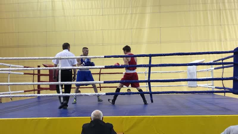 1 бой Чемпионат Самарской Области 2019г