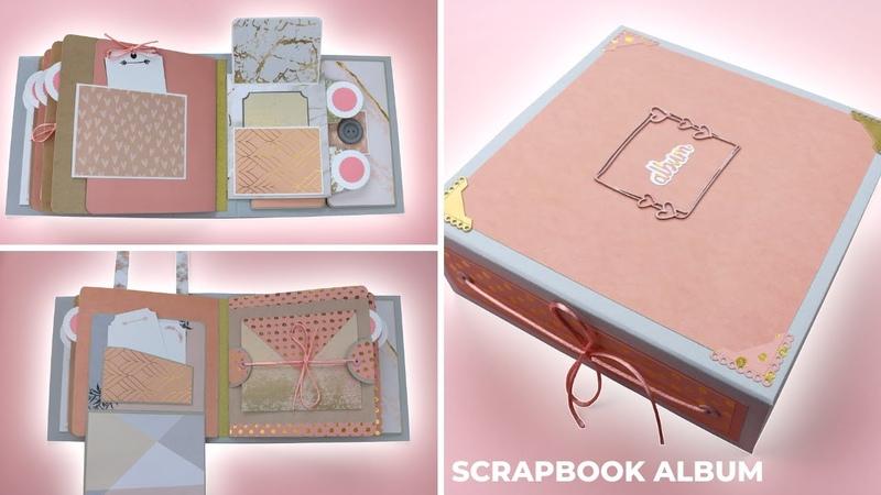 Scrapbook Album Blush Pink Mini Album SCRAPBOOK IDEAS