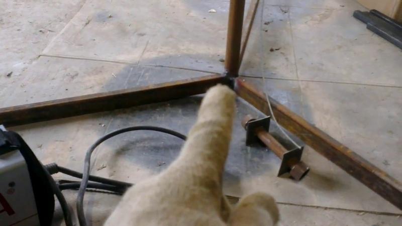 подъёмник для гипсокартона своими руками из подручного