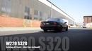MEC Design Mercedes W220 S320 Exhaust - Sound Version Earthquake