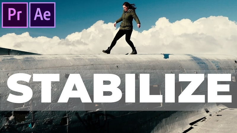 2 ways to STABILIZE SHAKY FOOTAGE (Warp stabilizer Premiere Pro and tracking in After Effects)
