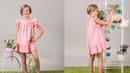 Vestido de gasa REVISTA PATRONES INFANTILES Nº 6