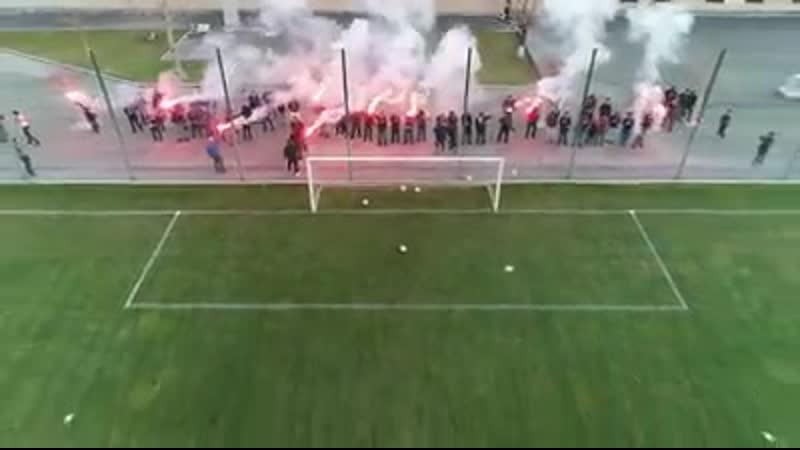 FAF на тренировке сборной Армении