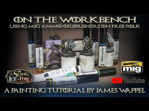 On the Workbench: ASOIAF Free Folk Thenn Warriors!