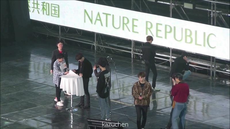 190316 EXO(엑소)-Game②@네이처팬미팅 Green Natur 2019 Fun Festival[fancam]