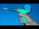 How to make a super powerful hot air gun from soldering iron