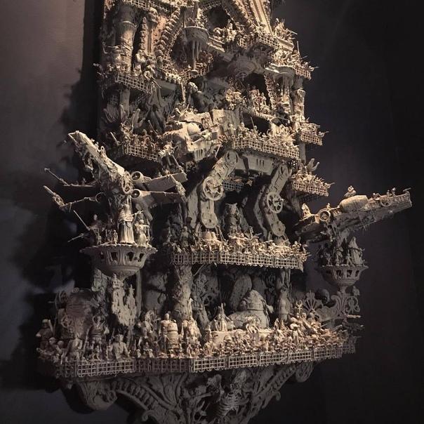 """Скульптура от настоящего поклонника """"Звездных войн"""""""