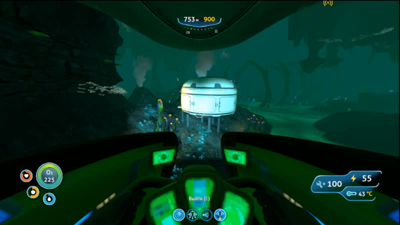 Subnautica buildinguse of bugsresearch of caves
