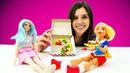 Барби и Супергерл готовят. Игры Готовка - Видео для девочек. Шоу Ох уж эти куклы!