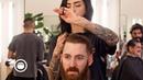 Clean Taper Fade with Sharp Beard Trim   Barbershop Chat