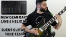 New Gear Day! Line 6 Helix LT - Quick Djent Guitar Tone Test