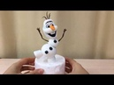 олаф из мастики ( How to Make a Fondant Olaf from Disney's Frozen - Cake Decorating Tutorial)
