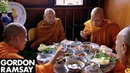 Gordon Ramsay Helps Prepare A Meal For Buddhist Monks Gordon's Great Escape