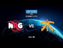 NRG vs fnatic IEM SYDNEY 2019 map2 de train Gromjkee ceh9