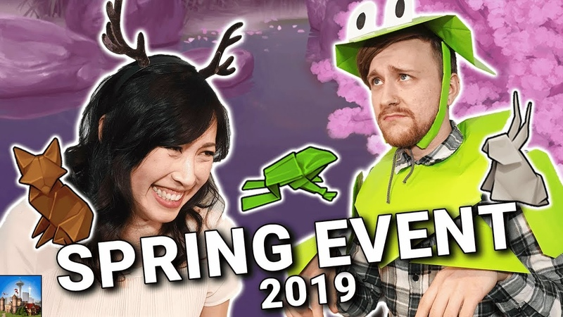 NEW EVENT all about ORIGAMI?! ❀ Spring Event 2019 | Forge of Empires