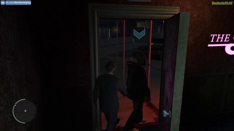 Играем в GTA 4 Встречаемся с Дуэйном Идём в Стриптиз Клуб