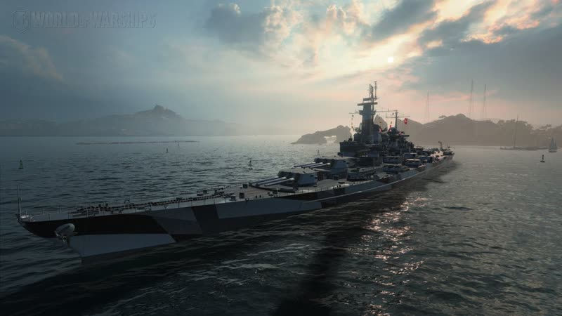 World Of Warships линкор Montana