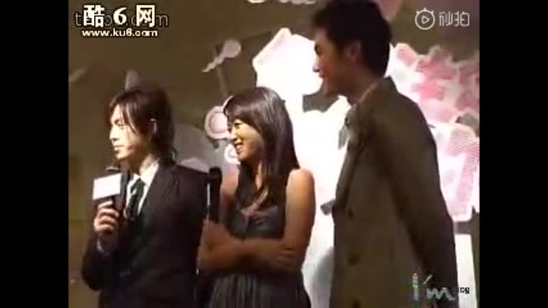 The Presentation of Fated to Love you drama 2008 Interview Baron Chen