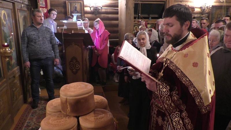 доброхрам Пасхальная Литургия освящение артосов о Александр 28 04 19