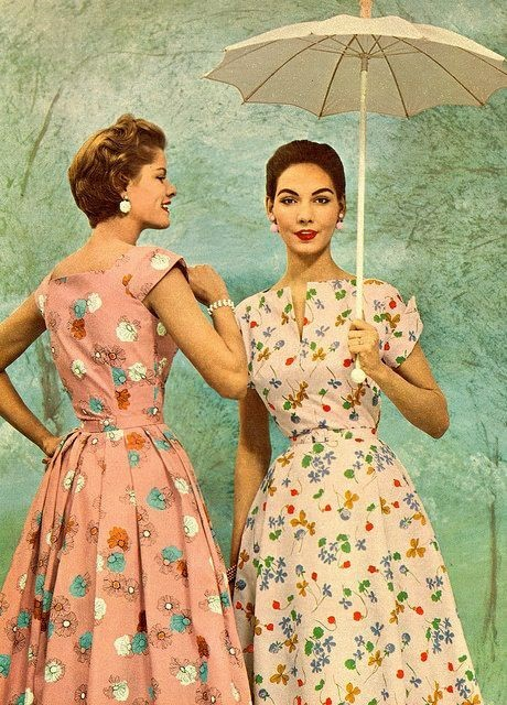 Платья 1950