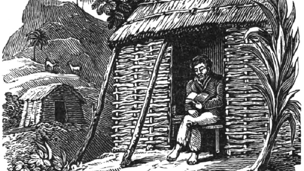 КАК СУДЬБА РЕАЛЬНОГО РОБИНЗОНА КРУЗО СТАЛА ОСНОВОЙ НОВОГО ЛИТЕРАТУРНОГО ЖАНРА 1 февраля 1709 года завершилось четырёхлетнее вынужденное отшельничество шотландского моряка Александра Селькирка.