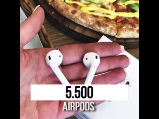Пожалуй, лучшие цены на iphone и airpods в иркутске