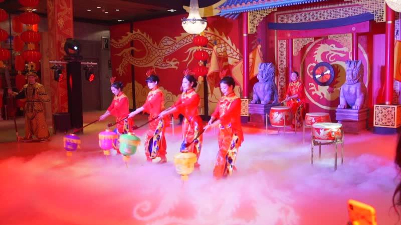 Императорские Фонарики Китайское барабанное шоу и боевые искусства