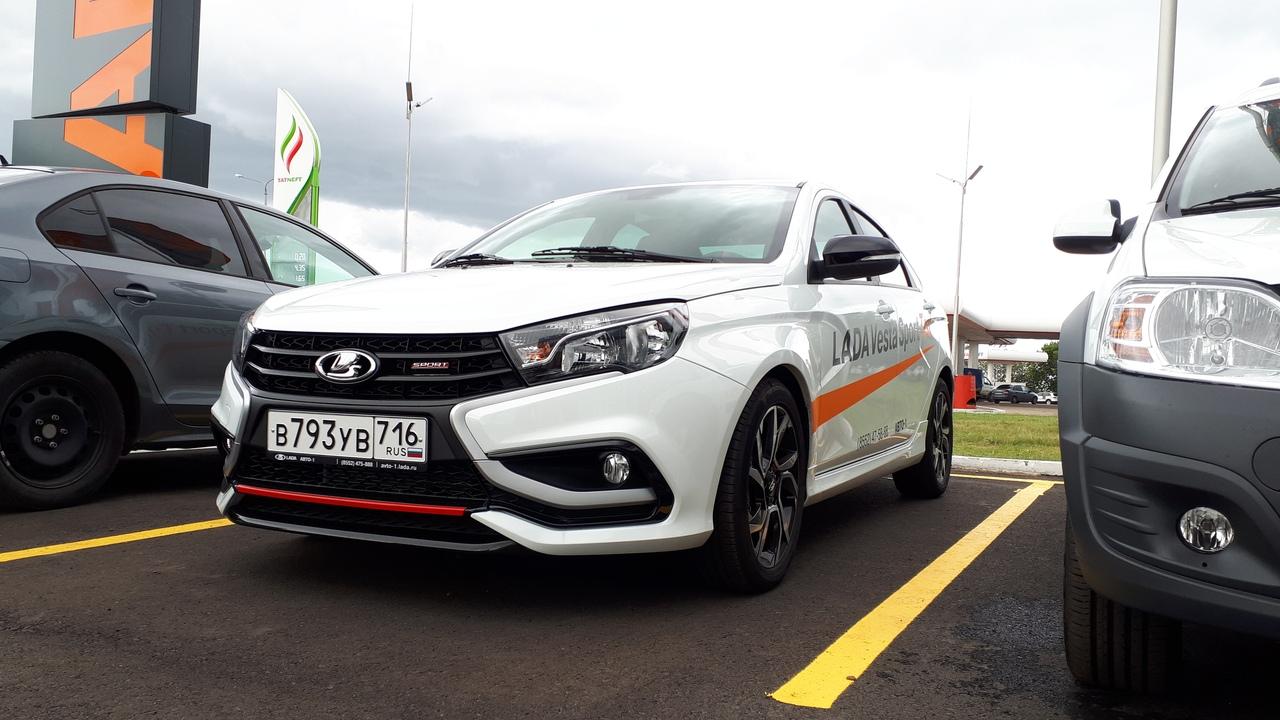 LADA Vesta Sport уже на тест-драйве в Авто-1!