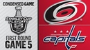 04/20/19 Round 1, Gm5: Hurricanes @ Capitals