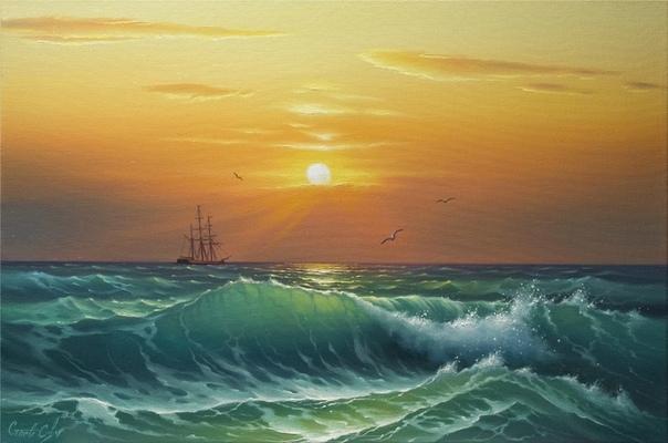 Сергей Стоев принадлежит к славной плеяде современных художников Родился в Украине, в 1971 году, в городе на Днепре Запорожье. Образование средне-техническое, учился в Запорожском