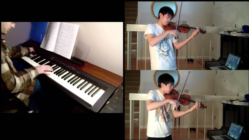Beauty and the Beast Tale as Old as Time violin piano Ft Kyle Landry