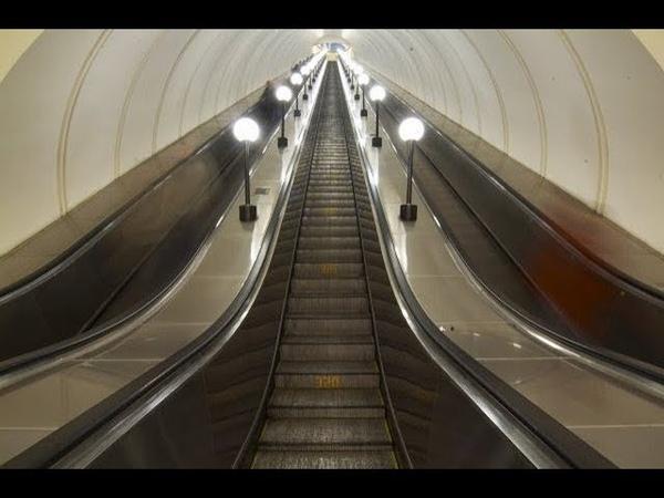 Как это устроено эскалатор