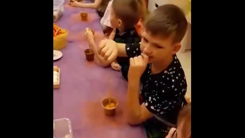 💥В детском клубе Babys time прошел увлекательный мастер-класс по изготовлению волшебного деревца - топиария. Ребята были увле