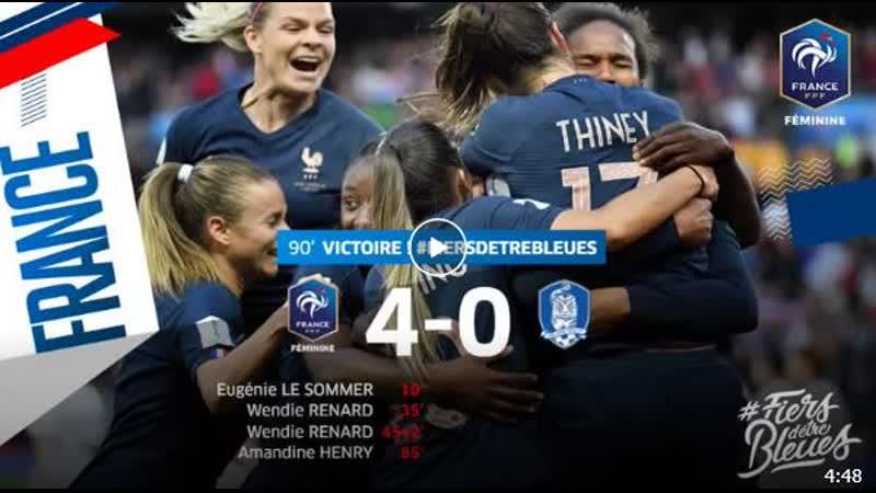 France vs Corée du Sud 4-0.