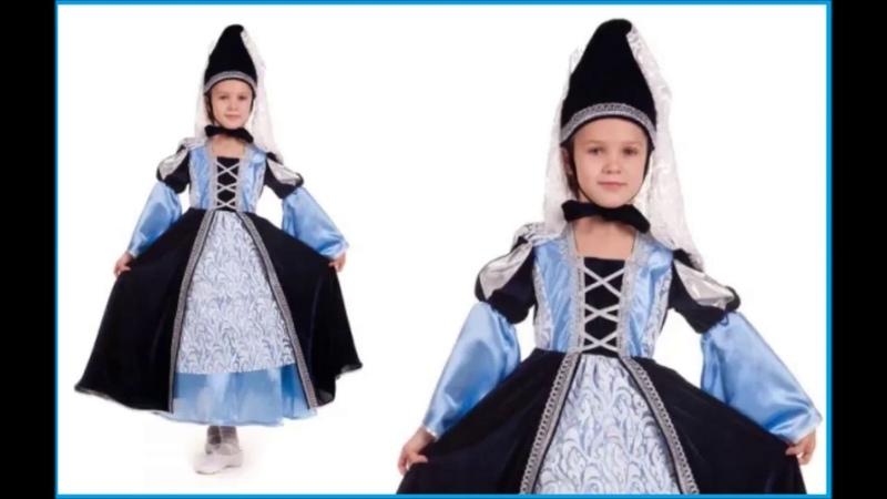 👍 Костюм Принцесса Готическая для девочки — Магазин GrandStart.ru ❤️