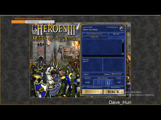 СНГ 2019. Финал: Jelen117 (Red, Cove +2500) vs Dave_Hun (Blue, Fortress, -2500) / HotA, 6lm10a