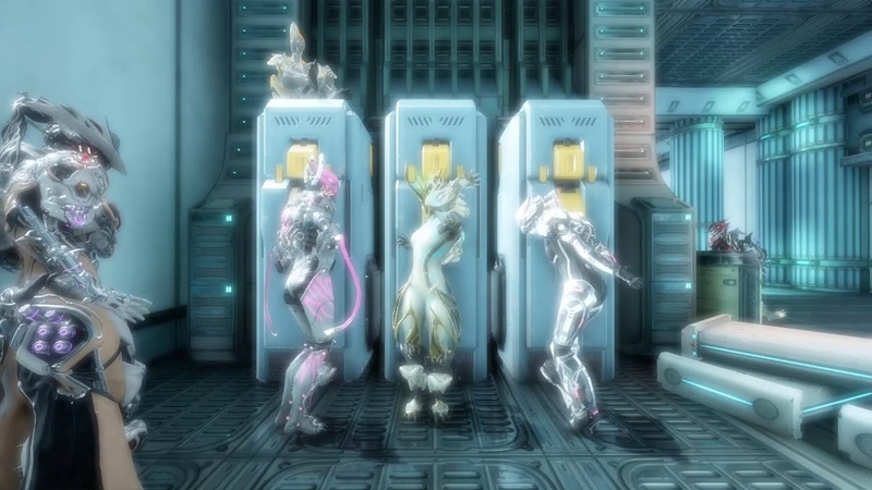 Warframe Girls Locker Room VS Boys Locker Room