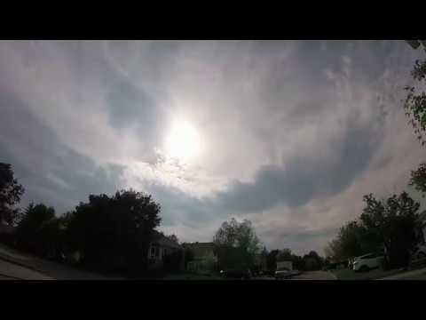 2018 Timelapse Mashup Artificial Clouds Dissolution , Stratus , Oversaturation, Seeding