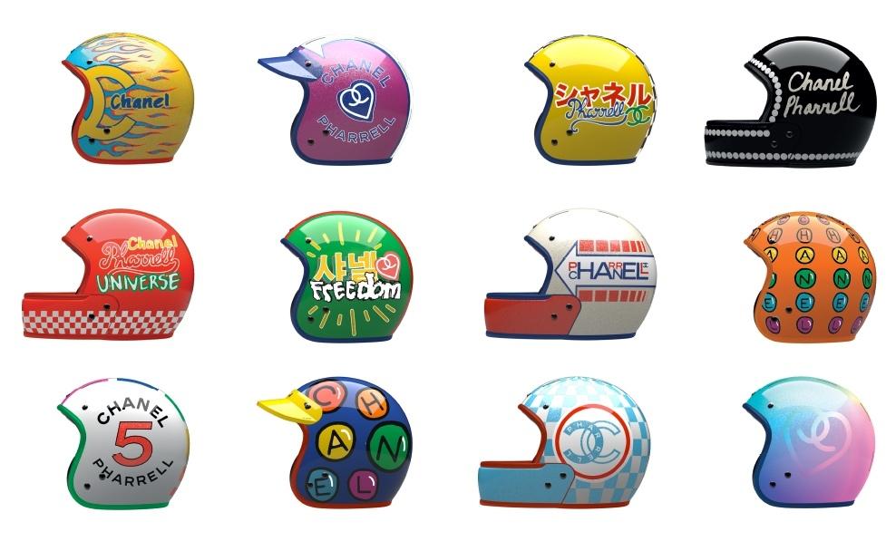 Коллекция шлемов Veldt Шанель + Фаррелл Уильямс
