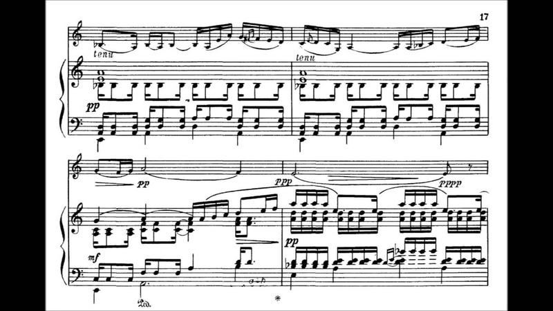 Poulenc, Francis Sonate for violin piano