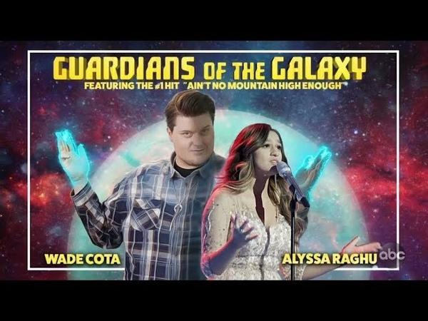 Wade Cota and Alyssa Raghu Duet on Queen Night with Adam Lambert Intro Judges Comments